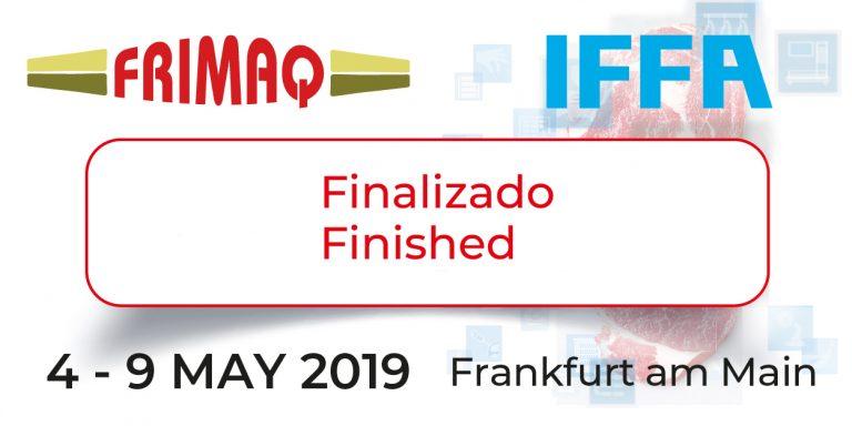 Frimaq estará presente en la IFFA 2019 en Frankfurt. (Finalizado)