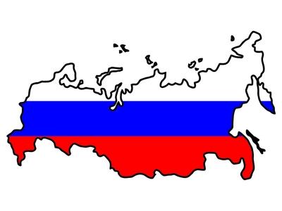 pais rusia con color de su bandera